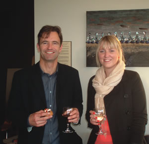 Cluster Creative Designers - Adam Errington and Amy Potter