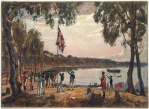 The Founding of Australia by Algernon Talmadge