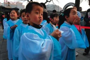 Altar servers, Beijing