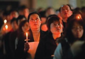 China candle