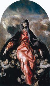 Madonna of Charity, El Greco, c. 1604