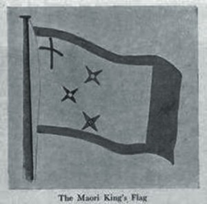 The Kingite Flag from a drawing by  Colonel H S Bates