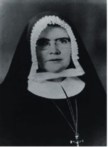 Mother M Rose whose council decided on the Wellington foundation