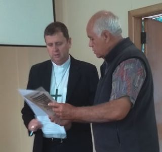Bishop Stephen and Doug Rewi