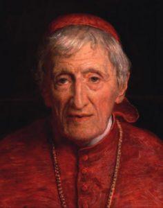 Cardinal J H Newman by J E Millais 1881