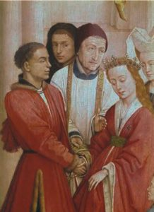 Matrimony   Rogier van der Weyden c 1445