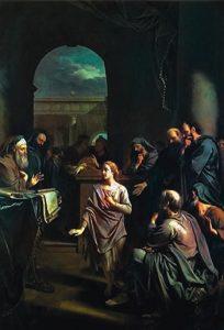 The Boy Jesus in the Temple Adriaan van der Werff