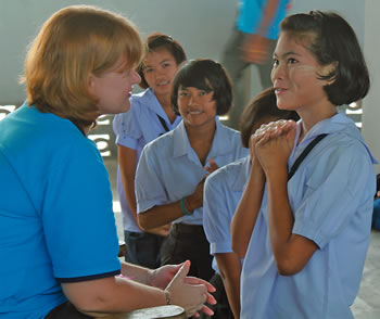 Marist Asia Foundation provides a 4 year secondary education programme for 95 teenagers.