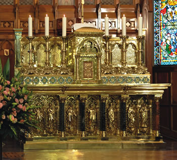 St Pats Altar