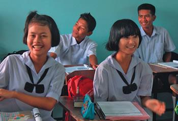 Senior school students