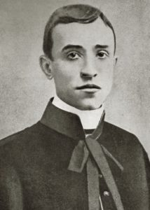 Pacelli young priest