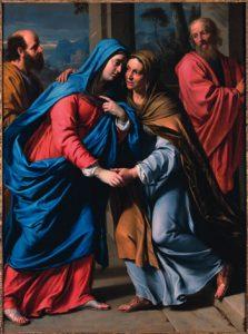 Visitation, Philippe De Champaigne,1643-48