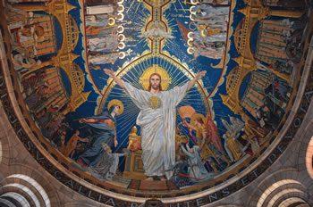Mosaic, Sacré Coeur Basilica, Paris