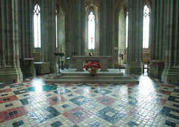 Interior, Mont Saint Michel