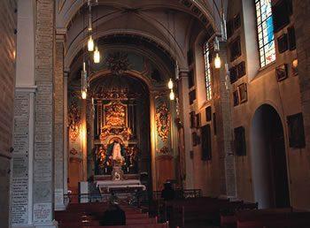 The Chapel of the Black Madonna, the site of the Fourvière Pledge