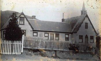 Fr Garin's old school in Nelson