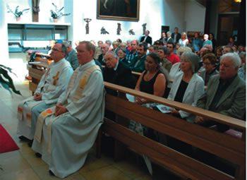 Fr Alois Greiler sm and Fr Ludger Werner sm, celebrating their 25th anniversary of ordination