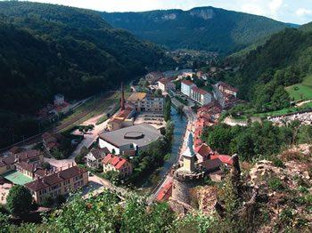 Saint-Rambert-en-Bugey, Garin's birthplace
