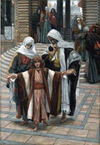 Jesus Found in the Temple, James Tissot, c. 1890