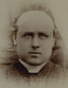 Fr Laurence Ginaty in early years