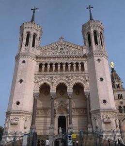 Palmer Lyon Basilique de Fourvière Front view