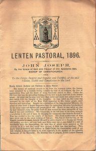 Vaney Lenten Pastoral